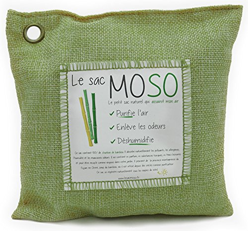 Le sac MOSO Version 500 GR - Purificateur d'air,...