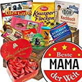 Herz Box ❤️ DDR Geschenkbox ❤️ Individuelle Geschenkbox - Beste Mama der Welt ❤️ Individuelle Geschenkidee Mama Geburtstagsgeschenk Mama Geschenke für die Mutter Mama Geschenk persönliches Geschenk für Mama Geschenkideen für Mütter