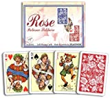 Kartenspiele, Patience Rose Solitaire von Piatnik