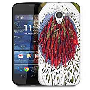 Snoogg Crayfishes Designer Protective Phone Back Case Cover For Moto X / Motorola X