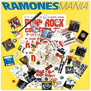 Mania By Ramones 1988 Audio Cd Ramones Amazon De Musik