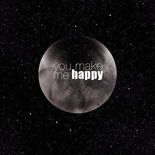 Apple iPhone 6s Plus Bumper Hülle Bumper Case Glitzer Hülle Happy Mond Moon Bumper Case transparent grau