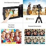 Docooler Andoer HDV-534K 4K 48MP WiFi Digital Video Camera 1080P Full HD Novatek 96660 Chip 3inch Capacitive Touchscreen IR Infrared Night Sight Support 16X Zoom Face Detect