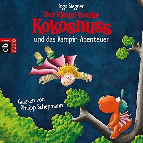 Buchseite und Rezensionen zu 'Der kleine Drache Kokosnuss und das Vampir-Abenteuer' von Ingo Siegner