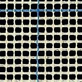Tappeto a uncinetto, tela da parete (3 HPI) con rivestimento blu con ago per tappeto, Blue, 100cm x 100cm