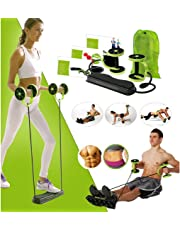 VPN FITNESS AND SERVICE Foldable Revoflex Xtreme Rally Multifunction Pull Rope Wheeled Health Abdominal Muscle Training Home Equipment
