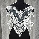 Selene Perles Motif dentelle pour robe de mariée, robe de mariée Applique Robe en dentelle Trim