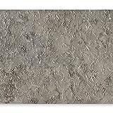 murando - Fototapete 400x280 cm - Vlies Tapete - Moderne Wanddeko - Design Tapete - Wandtapete - Wand Dekoration - Textur silber grau - wie gemalt f-A-0462-a-a