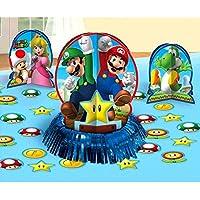 Amscan 281554Super Mario Kits de decoración para mesa