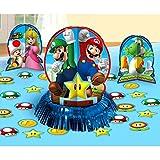 Amscan 281554Super Mario-Tisch, Deko-Sets