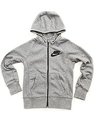 Nike Girl 's YA76semi-brushed Franquicia sudadera con capucha Chándal, niña, YA76 Semi-Brushed Franchise Full-Zip Hoody, gris