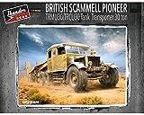 Thunders Models British Scammell Pioneer Tank Transporter 30-ton