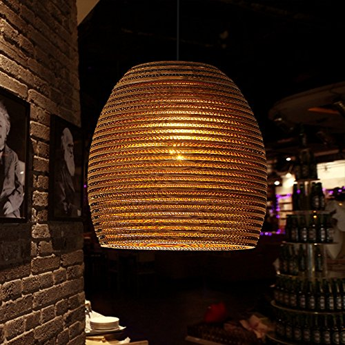 LINA-Creative lampadari ondulato personalità tea cafe luce