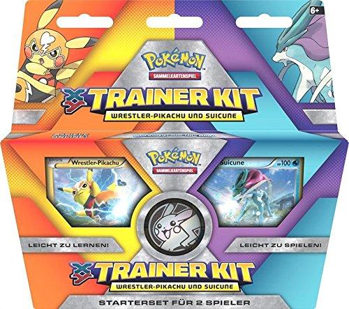 Preisvergleich Produktbild Pokemon 25834 - XY Trainer Kit 9 DE, Sammelkartenspiele und Zubehör