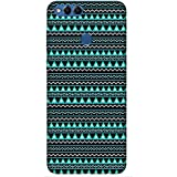 For Huawei Honor 7X Floral Patten Background ( Floral Patten Background, Floral Patter, White Background ) Printed Designer Back Case Cover