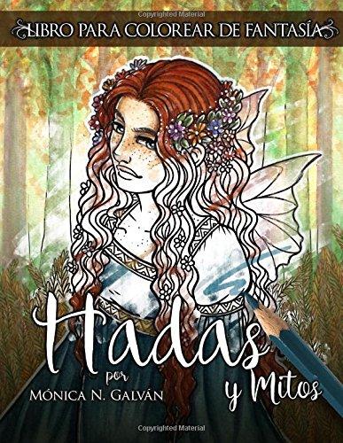 Hadas y Mitos: Libro para Colorear de Fantasía