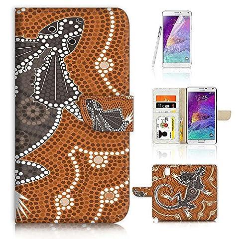 Samsung Galaxy Note 4Flip Wallet Coque et protection d'écran Bundle.