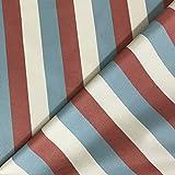 Discover Direct Pastel Stripes Woven Weiche Drapierung