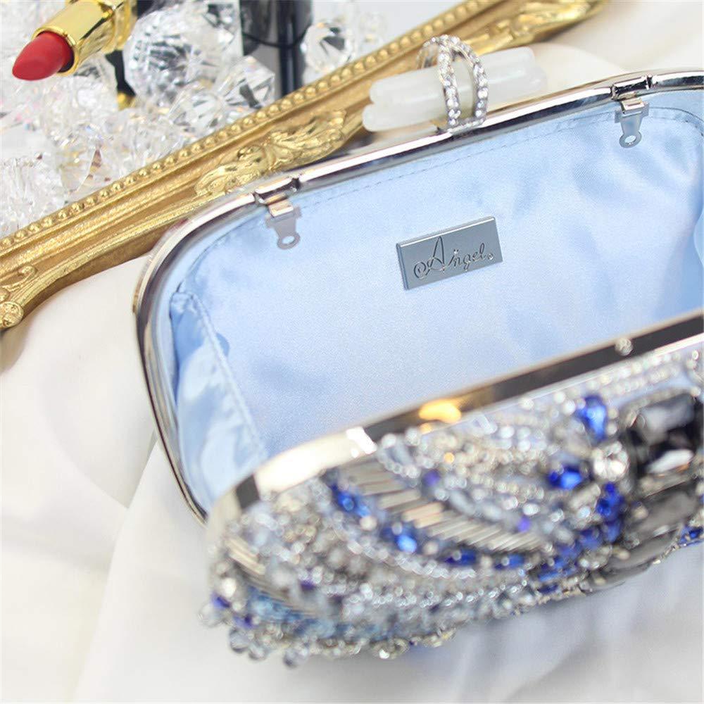cf4780bf0e694 Lovely Rabbit Women Party Wedding Evening Bag/rhinestone Clutch Purse/crystal  ...