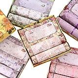 Zhi Jin Romantische Blume Buchstabe Schreiben Stationäre Papier Love Briefpapier und Umschläge Set Geschenk mit Box grün