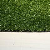 Kunstrasen von AMOD, Florhöhe 10mm, Breite 2m, der hochwertige und echt-aussehende Rasenteppich.