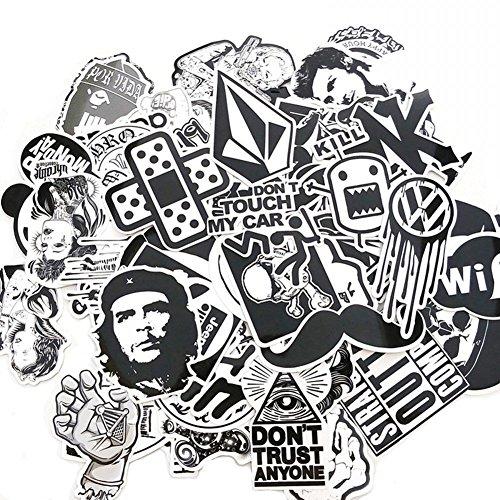 Preisvergleich Produktbild Suboer 60pcs Aufkleber für Skateboard Snowboard wasserdicht Weinlese Vinylaufkleber Graffiti Laptop Gepäck Auto Fahrrad Koffer Kühlschrank stickerbomb Decals mischen Lot Art und Weisekühler