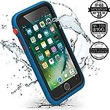 Catalyst Hülle für Apple Iphone 7 Plus (blau/rot), wasserdicht, schockabsorbierend, mit voller Touchscreen-Funktion inkl. Touch ID