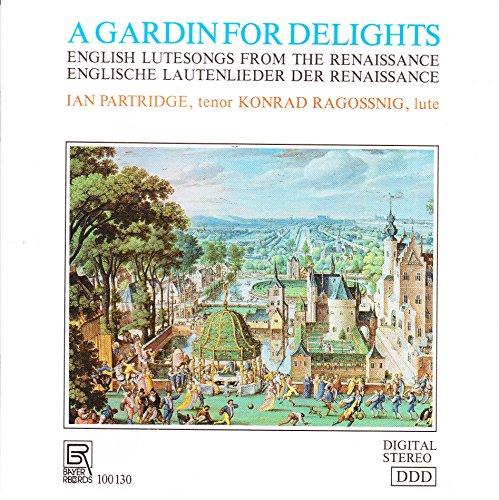 English Lute Songs From The Renaissance / Englische Lautenlieder der Renaissance