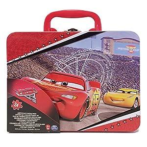 Cardinal-6035603-Grande Maleta Metal 2Puzzles lenticulaires-Cars 3