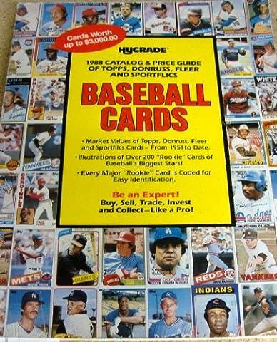 Hygrade 1988 Catalog & Price Guid of Topps, Donruss, Fleer and Sportflics Baseball Cards