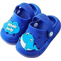 Rokiemen Enfants Sabots Mules Été Fille Garcon Chaussures de Jardin Sandales de Plage Pantoufles Maison Antidérapant…