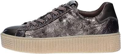 Nero Giardini Donna Sneaker A806692D Bronzo Scarpe in Pelle Autunno Inverno 2019
