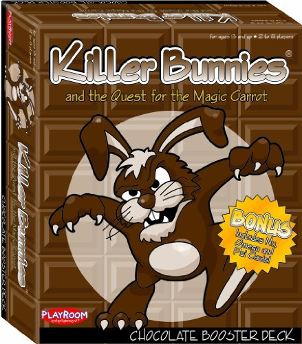 Killer Bunnies & Quest For Magic Carrot: Chocolate Booster Deck