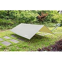 Himifutre 3 m x 3 m impermeable RipStop lluvia mosca hamaca lona cubierta tienda refugio lona para camping senderismo al aire libre viaje