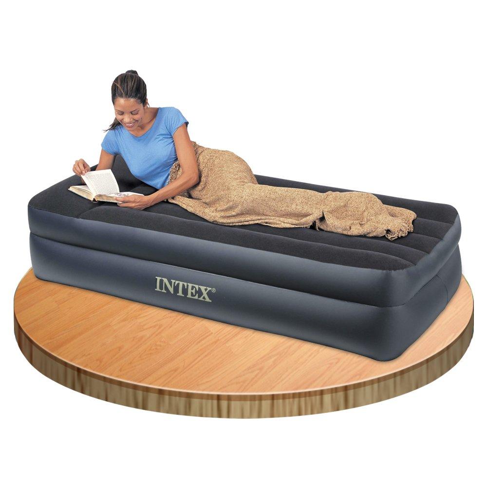 intex 66706 materasso letto, comfort singolo t con pompa elettrica ... - Materassi Gonfiabili Con Pompa Elettrica