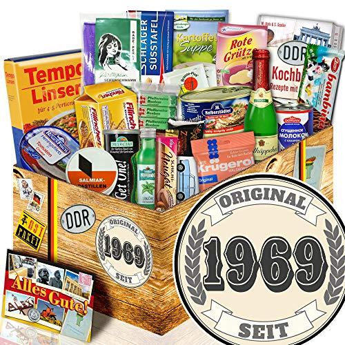 Original seit 1969 - Geburtstagsgeschenke zum 50. - Spezialitäten Geschenk DDR