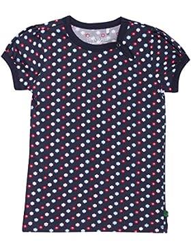 Fred's World by Green Cotton Mädchen T-Shirt Flower Sforwardslashsl T