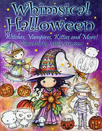 Coloring Book: Witches, Vampires Kitties and More! ()