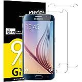 NEW'C 2 Pezzi, Vetro Temperato per Samsung Galaxy S6, Pellicola Prottetiva Anti Graffio, Anti-Impronte, Senza Bolle, Durezza 9H, 0,33mm Ultra Trasparente, Ultra Resistente