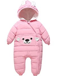 7a7564579 Bebone Baby Girls Boys Cartoon Hooded Winter Snowsuit Warm Outerwear