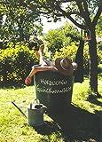 A4 Glückwunschkarte Ruhestand oder Geburtstag witzig Entspannung und Erfrischung im Garten