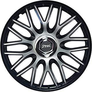 All4you Wheel Trims Orden Pro Silver Black/Silver Pack of 4