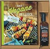 Veganes Grillbuch vegane Rezepte leichte Küche schnelle einfach BBQ Fleischlos Seitan Gemüse grillen Dips Saucen Salate (Das vegane Grillbuch mit original Jack Daniel's BBQ Sauce)