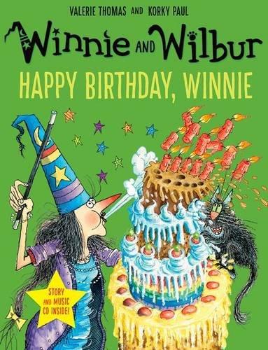 Winnie and Wilbur: Happy Birthday, Winnie with audio CD por Valerie Thomas