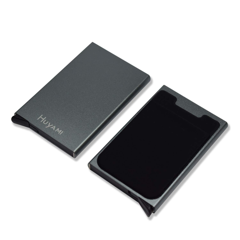 ca5d08b84f Porta Carta di Credito con tasca per biglietto – Bloccaggio e ...