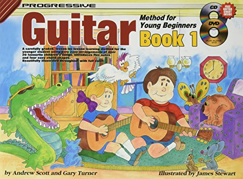 Progressive Guitar Method for Young Beginners: Book 1 (Progressive Young Beginners) (Method Guitar Progressive)