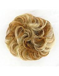 chouchou cheveux blond cuivré méché blond clair ref: 17 en f27613