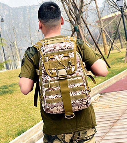 BAAFG Männer Im Freien Nylon Schulterbeutel Große Kapazität Reisen Bergsteigenbeutel Männer Und Frauen Freizeitsportpaket Black