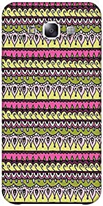 Snoogg Aztec Pink Solid Snap On - Back Cover All Around Protection Forsamsung...