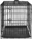 AmazonBasics Hundekäfig mit 2 Türen, Metall, zusammenklappbar, Gr. M - 8
